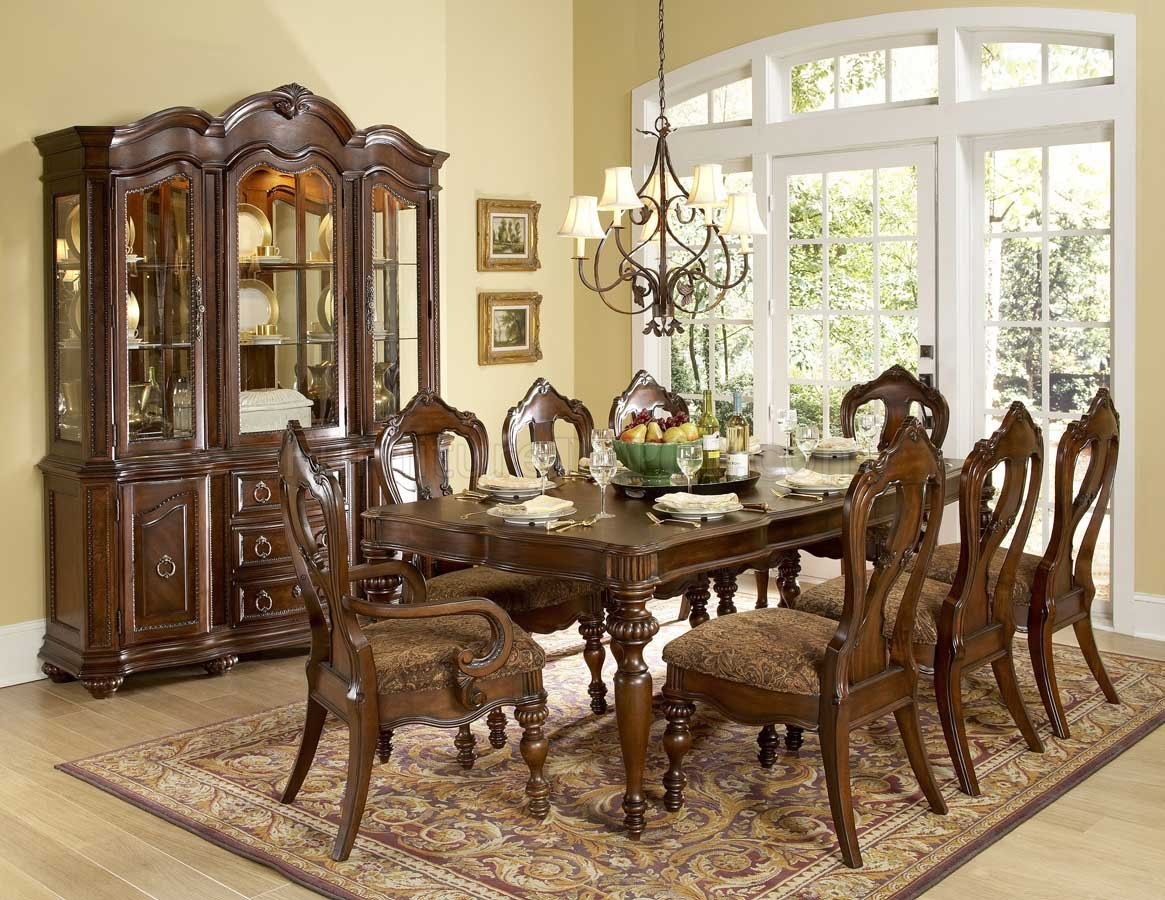 Prenzo Dining Table Brown By Homelegance