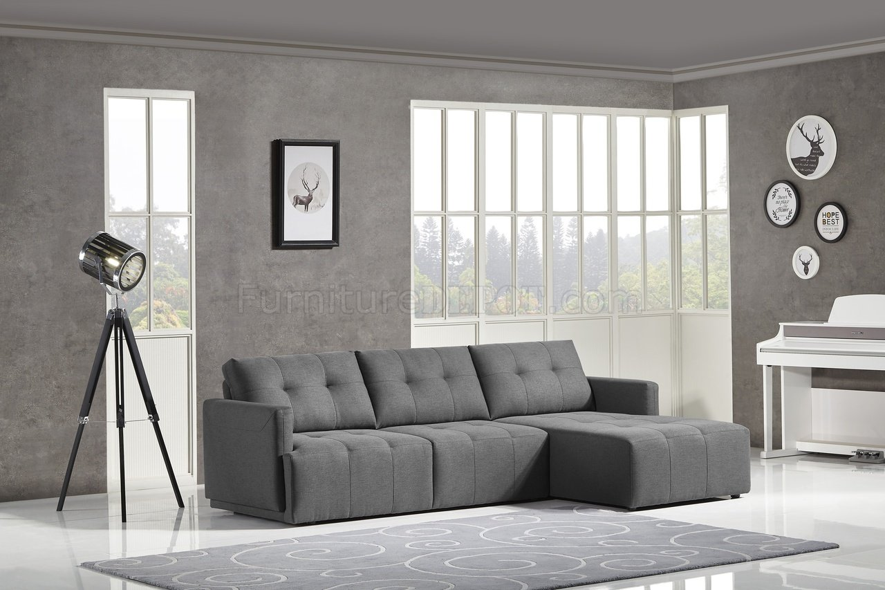 Sofa Test Colony Modular Sectional Sofa In Charcoal Fabric By Ncfurniture