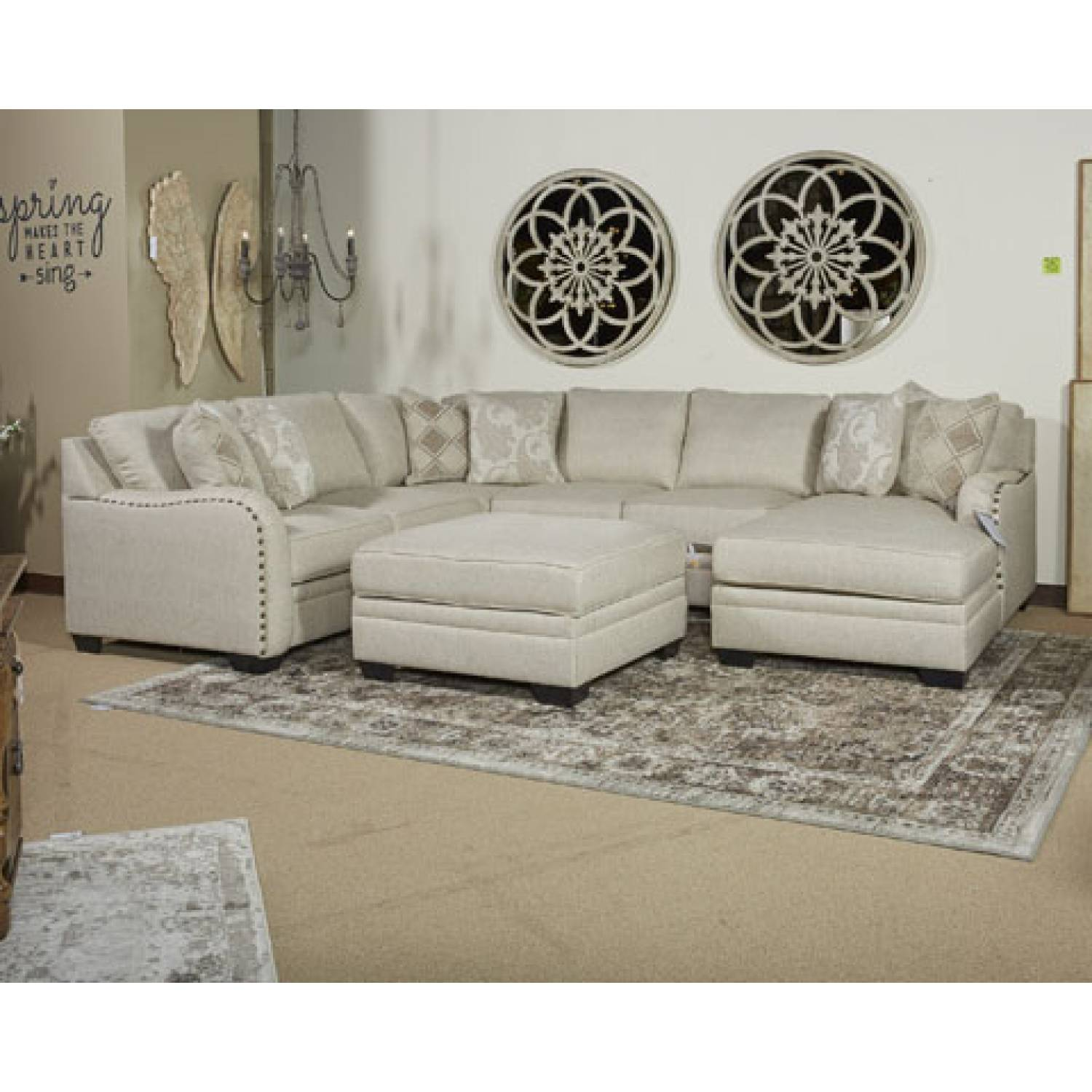 Ashley Furniture San Diego 52501 Luxora Ottoman With Storage