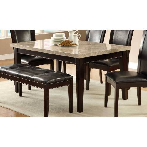 product&product id marble top kitchen table Hahn Dining Table Marble Top 64