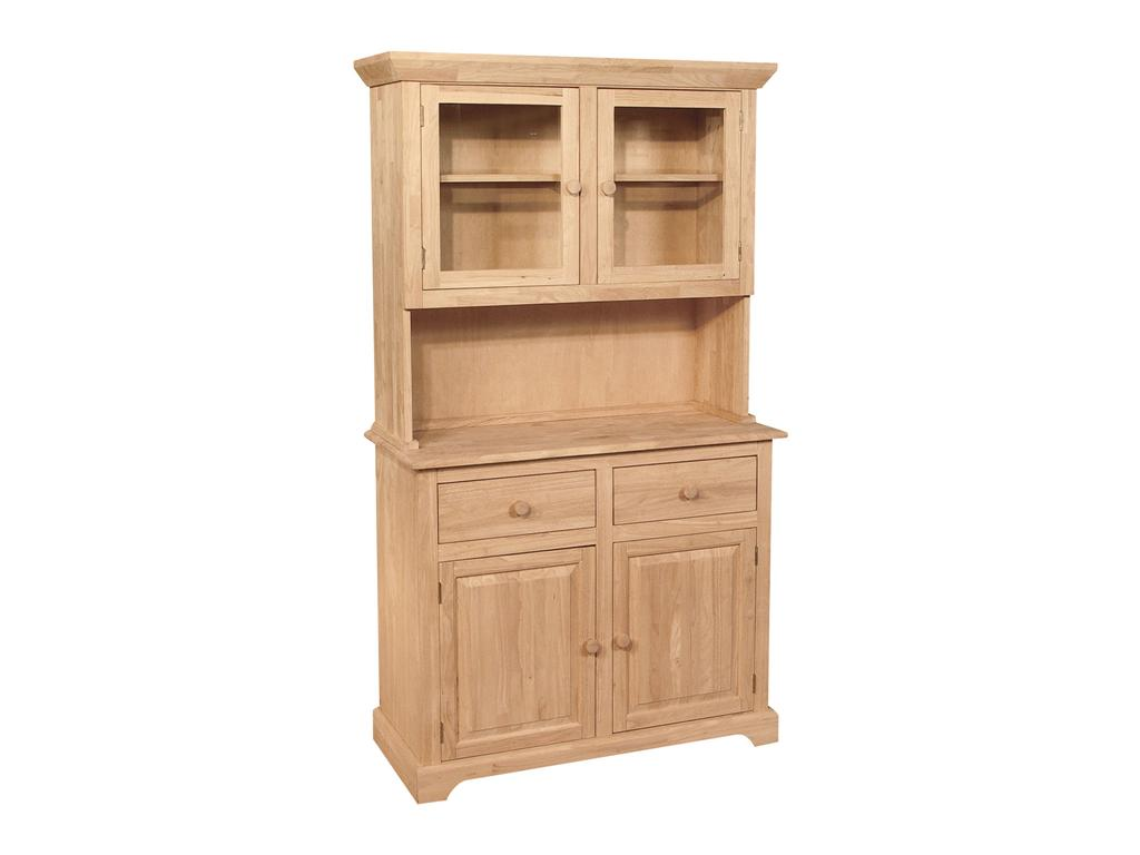 Hutches Real Wood Custom Unfinished Furniture