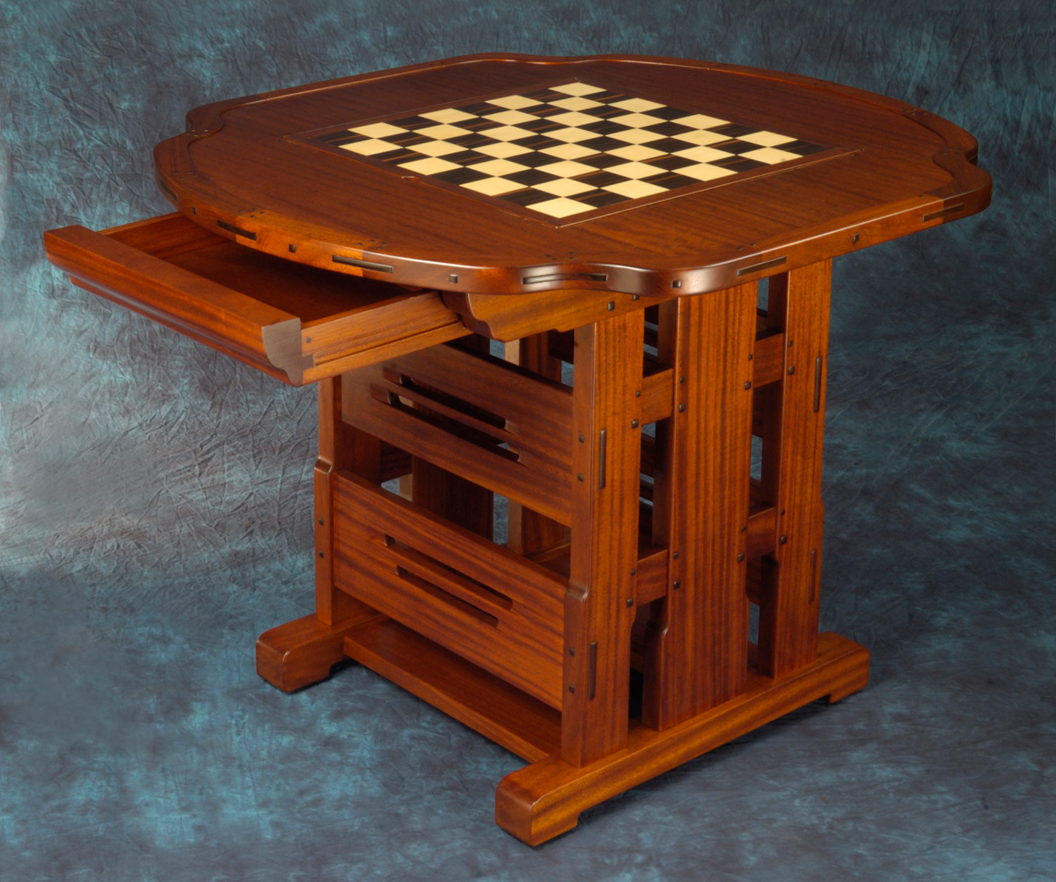 Chess Table Greene Greene Style Chess Table Darrell Peart Furnituremaker
