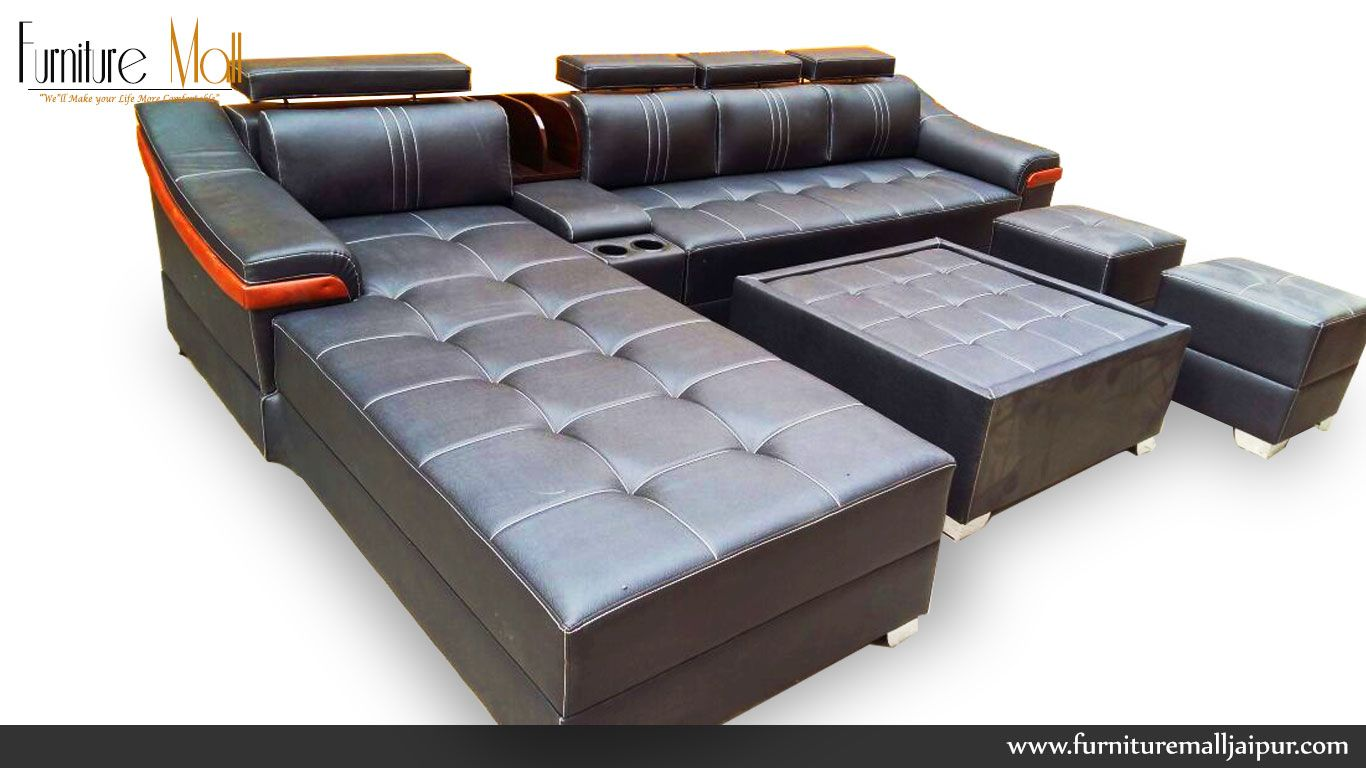 L Shape Sofa Set Kirti Nagar Furniture Mall Jaipur L Shape Sofa Set
