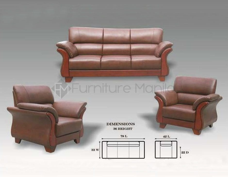Sofa Manila Philippines Yg311 Wooden Sofa Set – Furniture Manila Philippines