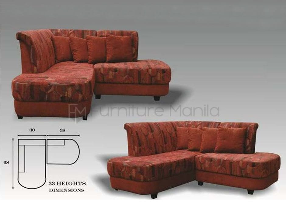 Sofa Manila Philippines Mhl 002 Belarus L-shaped Sofa | Home & Office Furniture