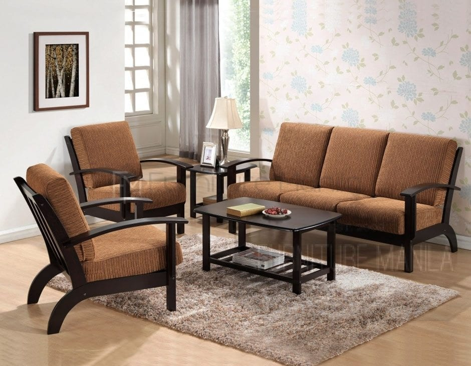 Modern Sala Set For Sale Philippines Yg331 Wooden Sofa Set | Home & Office Furniture Philippines