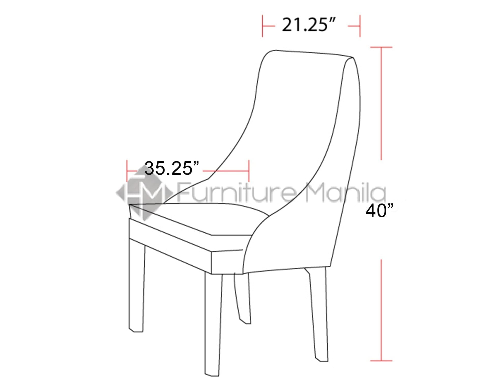 Dining Chairs Philippines Foster Dining Chair Home And Office Furniture Philippines