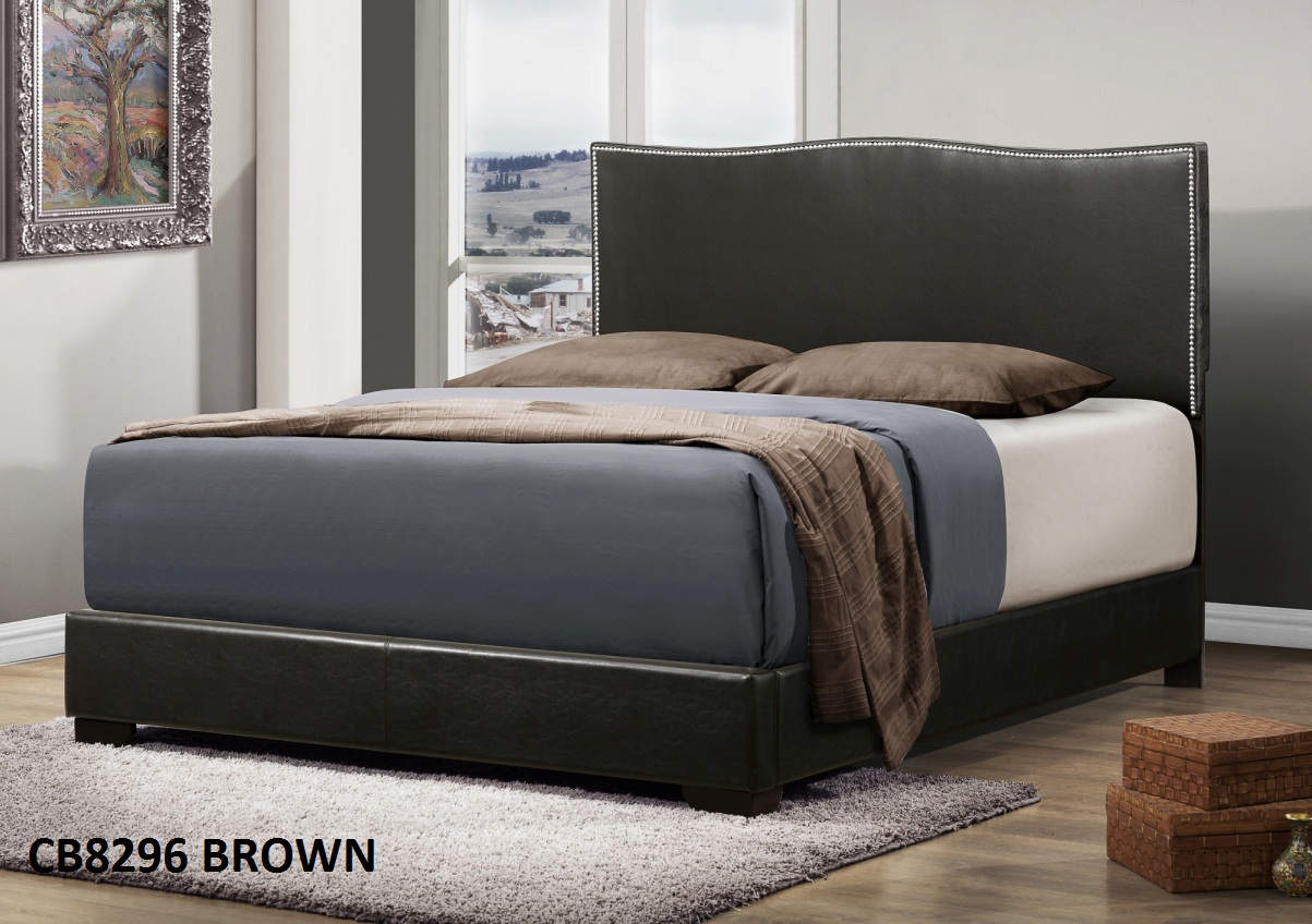 Queen Bed Sale Cb Queen Bed Frame Cb8296 Brown