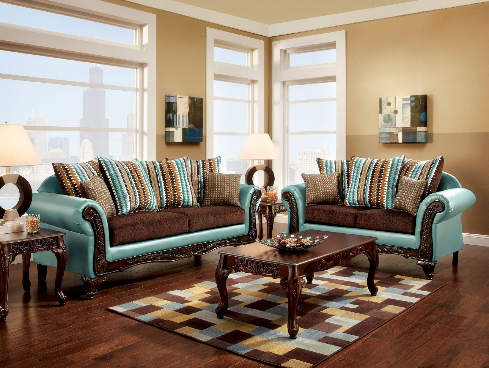 Mulligan 2pc Sofa Loveseat Set Foa Furniture Of America Mulligan 2pc Sofa Loveseat Set Available Online In Dallas Fort Worth Foa Furniture Of America Mulligan 2pc Sofa Loveseat Set Includes Mulligan Sofa 1 Mulligan Loveseat 1 Item Sku