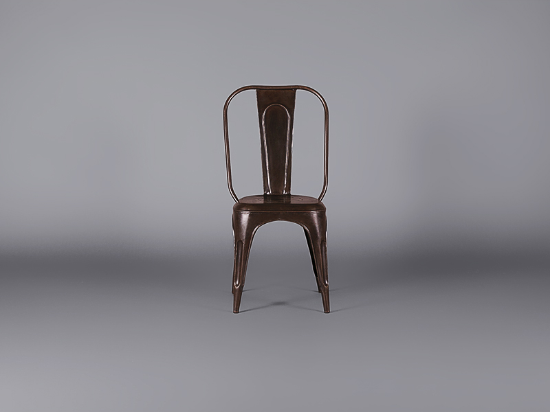 Industrial Chair Burnished Steel Chairs Furniture On