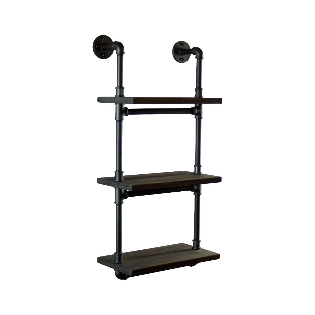 Etagere Metal Juneau Industrial Wall Mounted 18