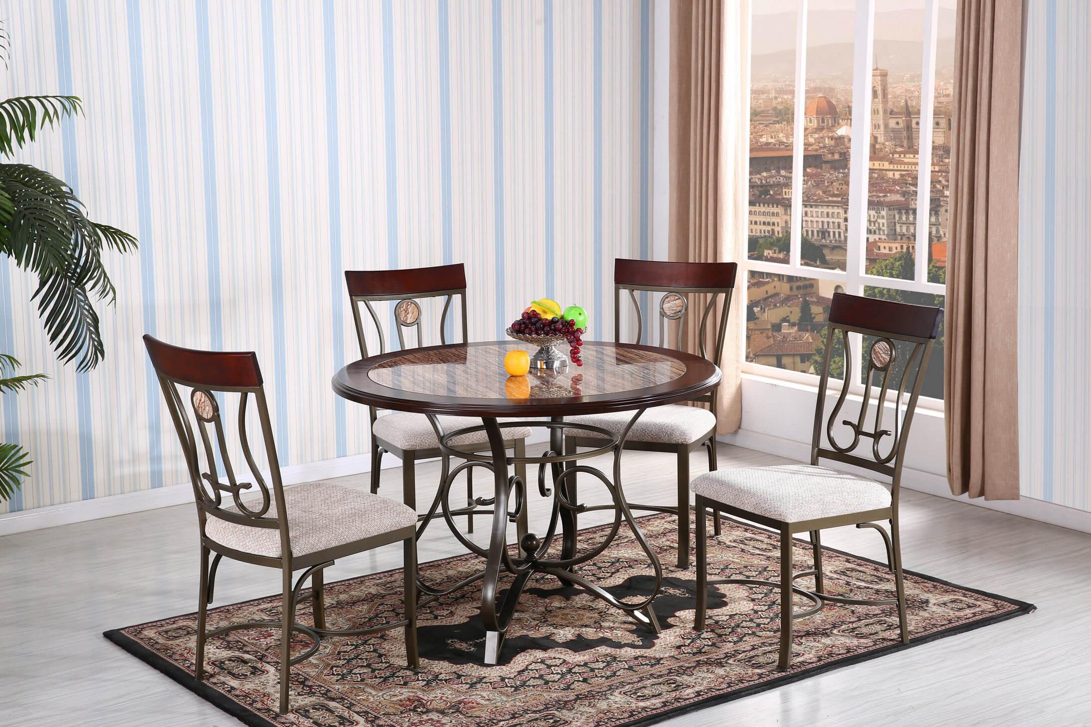Travertine Dining Set Dining Room Furniture Sets