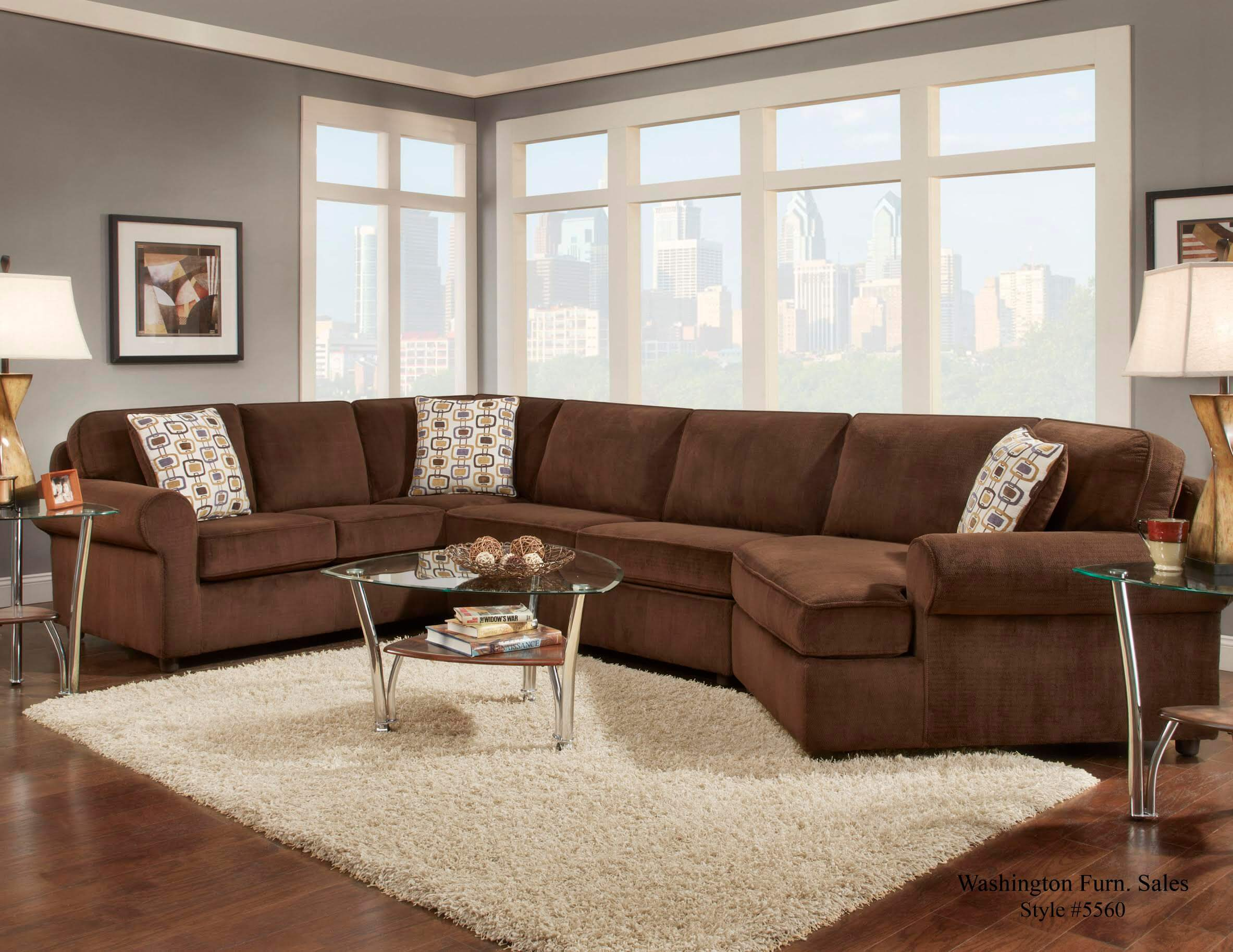 Sofa Set Offer Up Dynasty Chocolate Sectional By Washington Sectional Sofa