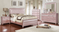 Ariston Rose Gold Bedroom Set | Urban Furniture Outlet