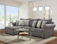 Jitterbug Gray Sectional | Sectional Sofa Sets