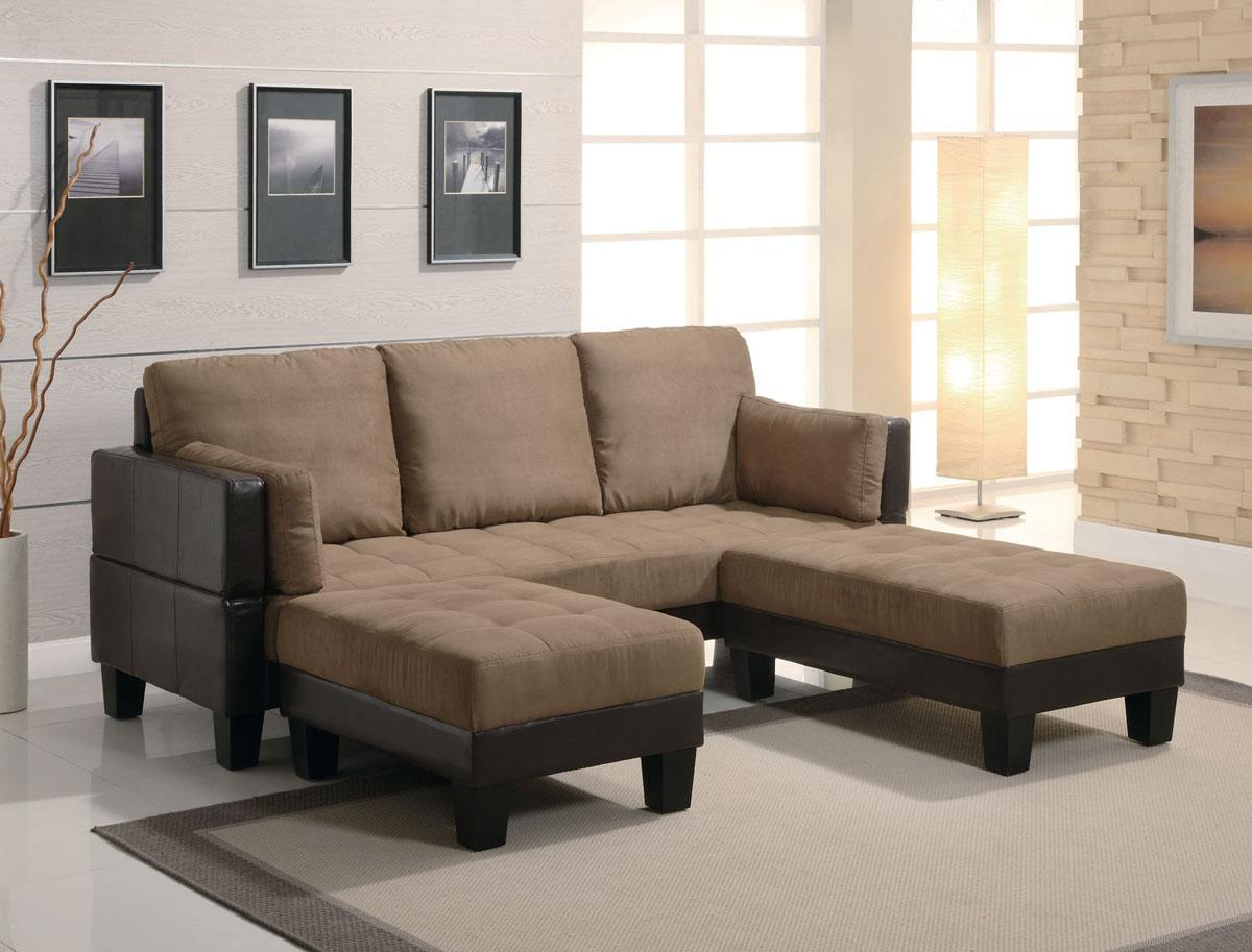 Fulton Contemporary Sofa Bed Group With 2 Ottomans