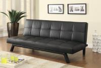 Sofa Beds and Futons Contemporary Sofa Bed in Black ...