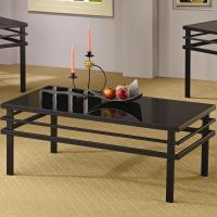 3 Piece Occasional Table Sets Modern Coffee Table and End ...