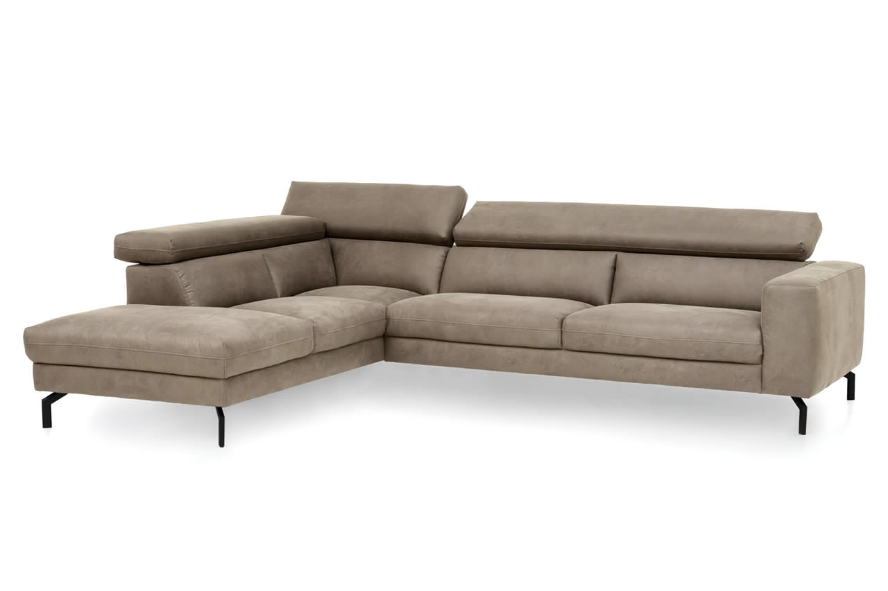 Ecksofa Klein Vintage New Look Ecksofa Xxl California Links Beige