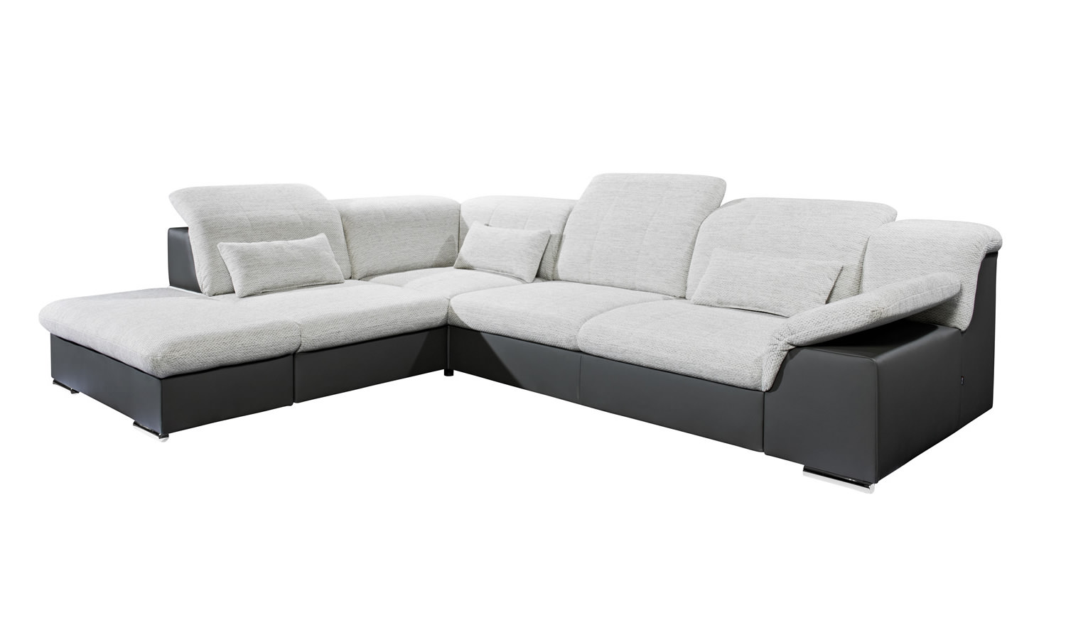 Ecksofa Move1 Blackredwhite Ecksofa Xl Move Links Mit Schlaffunktion