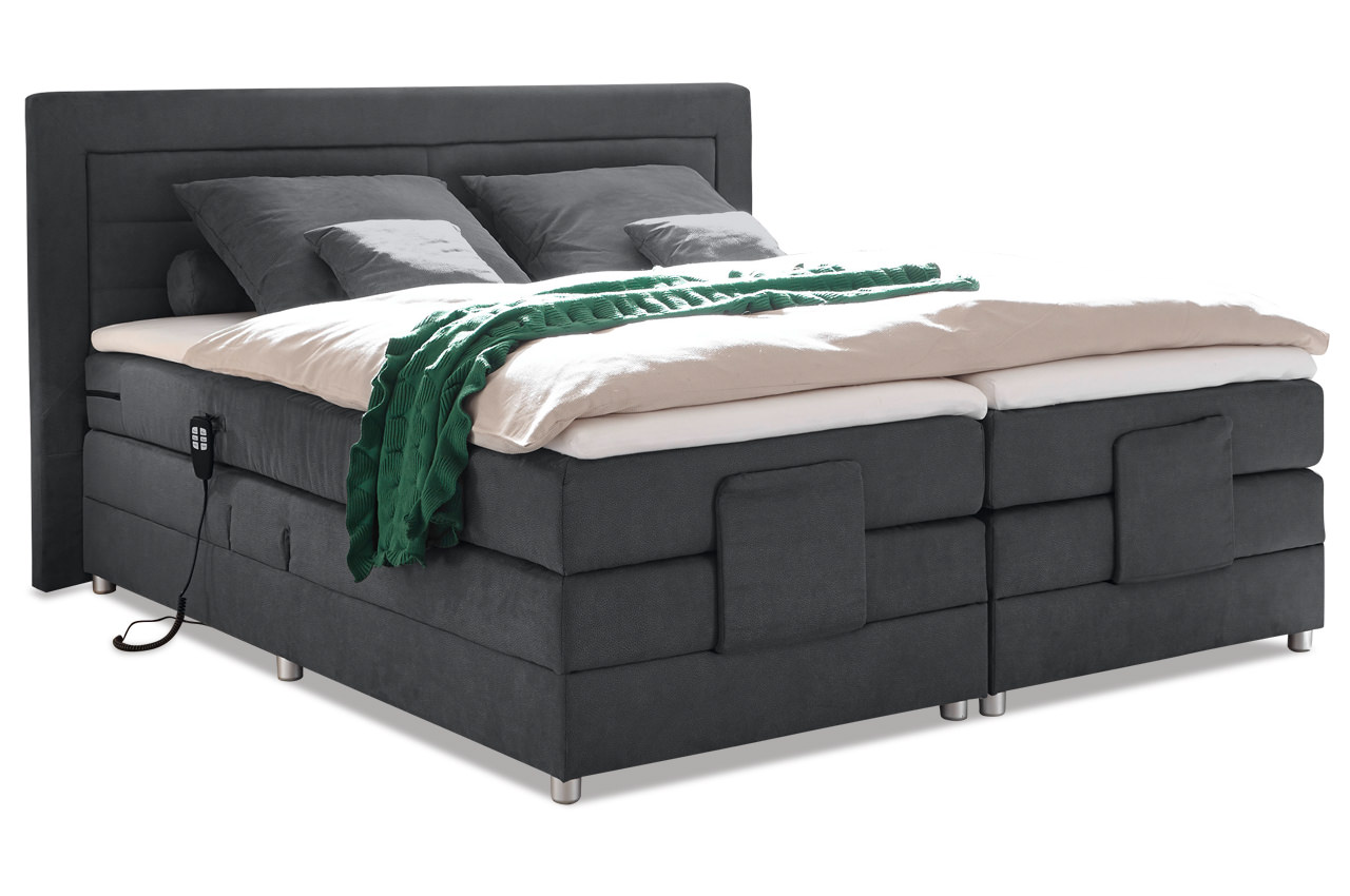 Boxspringbett Mit Motor Test Black Red White Boxspringbett Saba - Mit Motor | Furnster.de