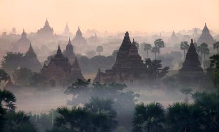 Bagan Before Sunrise