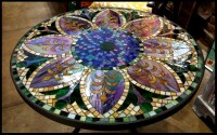 Pin Mosaic-table on Pinterest