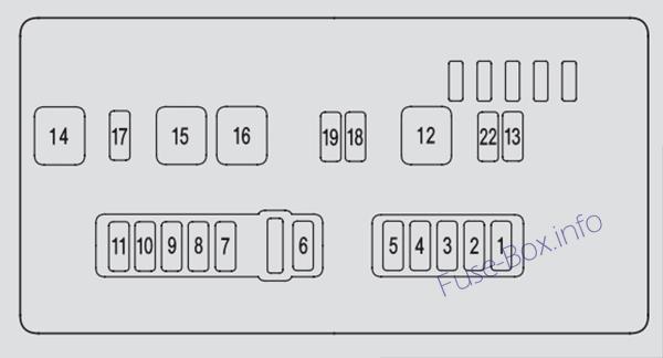 2007 Acura Mdx Fuse Diagram Wiring Schematic Diagram