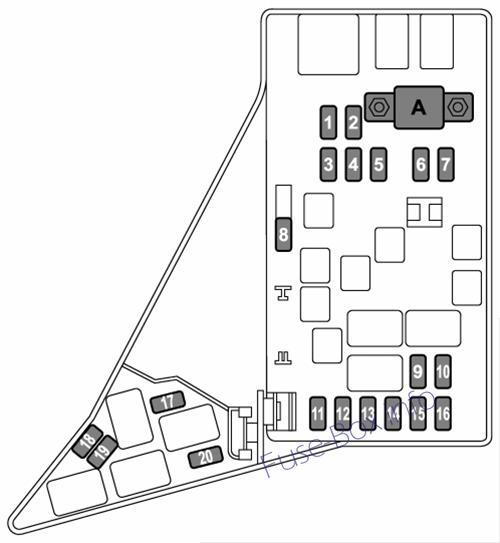 2015 subaru forester fuse box diagram