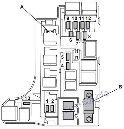 2006 subaru impreza fuse box diagram