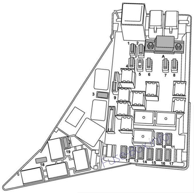 2008 subaru impreza fuse diagram