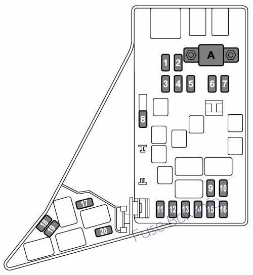 2016 subaru wrx fuse box diagram