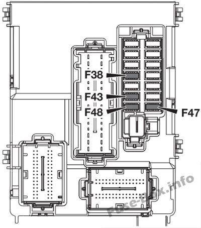 Alfa Romeo 4C (2013-2016) \u003c Fuse Box diagram