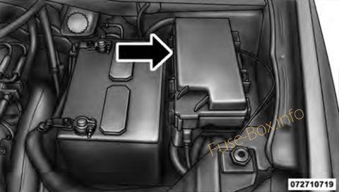 Dodge Grand Caravan (2008-2010) \u003c Fuse Box diagram