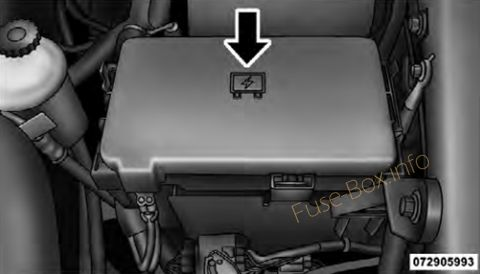 Dodge/Ram Pickup 1500/2500/3500 2009-2018 \u003c Fuse Box diagram