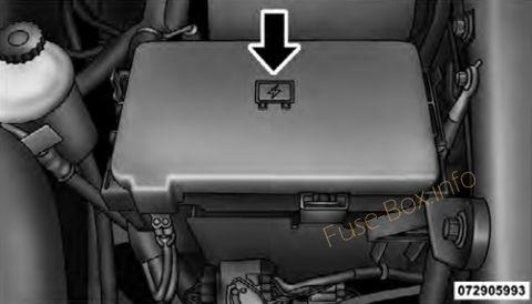 Dodge/Ram Pickup 1500/2500/3500 2009-2018 \u003c Fuse Box diagram