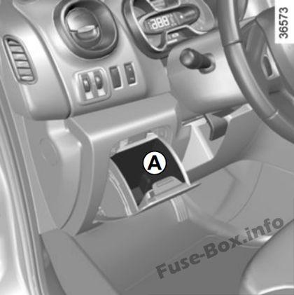 Renault Trafic III (X82; 2015-2019-) \u003c Fuse Box diagram