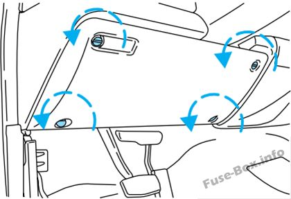 Ford Excursion (2000-2005) \u003c Fuse Box diagram
