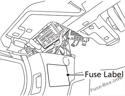 2007 honda accord hybrid fuse box diagram