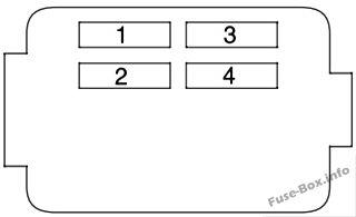 2006 cr v fuse box