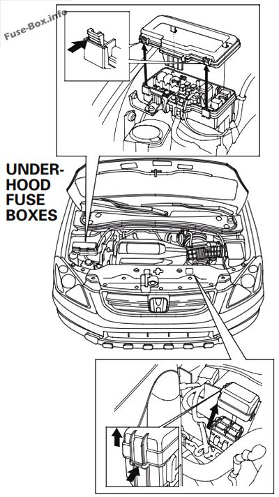 fuse box for 2003 honda pilot