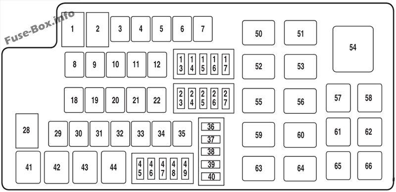 2012 ford flex fuse box diagram