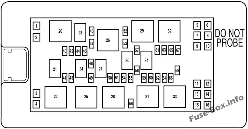 2005 ford mustang passenger compartment fuse box diagram