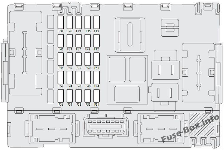 Fiat Croma 2007 2009 Fuse Box Diagram \u2013 Vehicle Wiring Diagrams