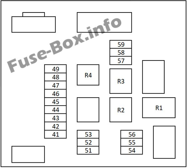 nissan qashqai fuse box diagram