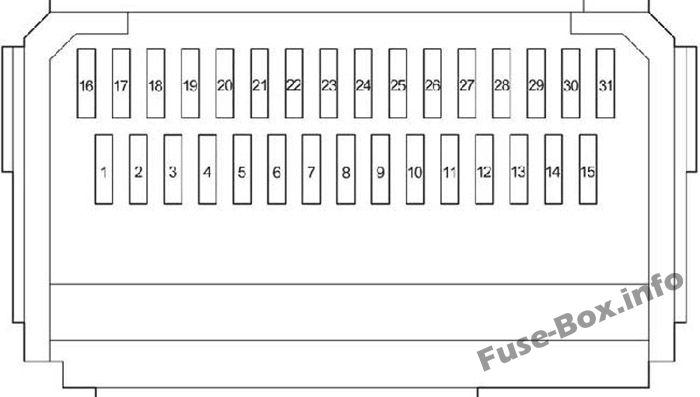 2012 prius c fuse box diagram