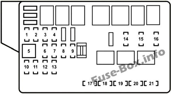 lexus gs430 fuse box