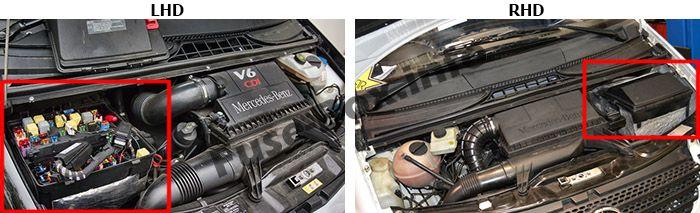 Mercedes-Benz Vito (W639; 2004-2010) \u003c Fuse Box diagram