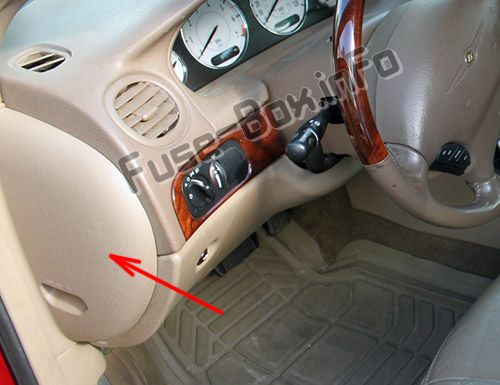 Chrysler 300M (1999-2004) \u003c Fuse Box diagram