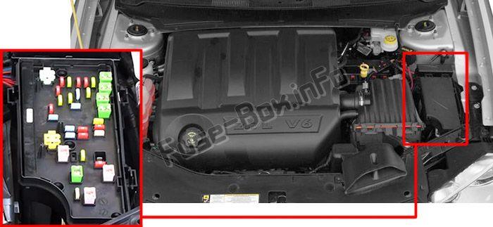 Dodge Avenger (2008-2014) \u003c Fuse Box diagram